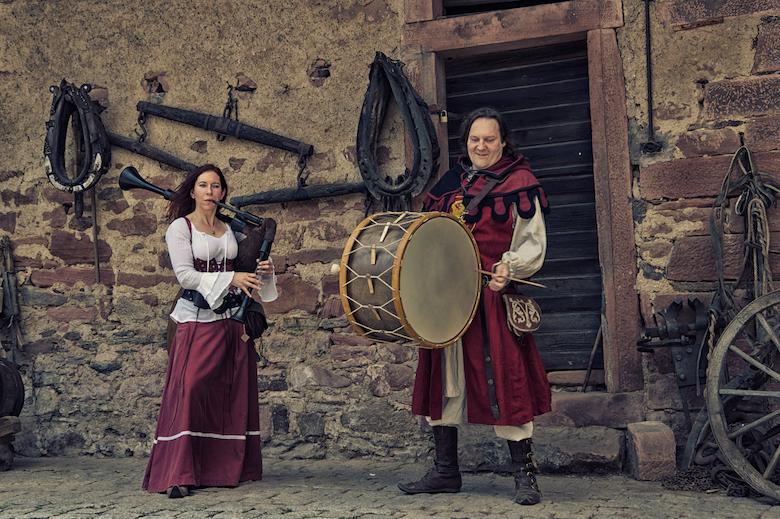 Duo Donnersack - Mittelalter-Dudelsack und Trommel